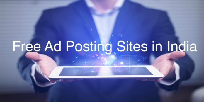 free ad posting sites in india