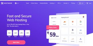 Hostinger india Web hosting