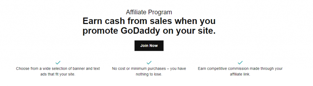 Godaddy India Affiliate